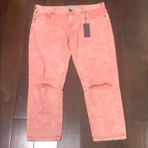 pink one teaspoon jeans